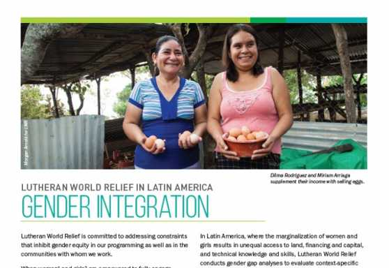 Gender Integration in Latin America