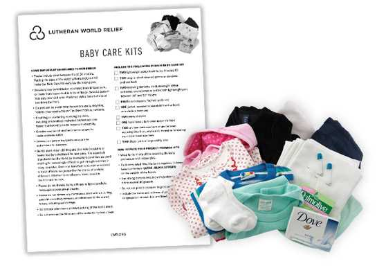 Baby Care Kit Assembly Instructions