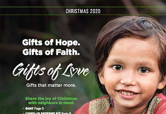 Gifts of Love Catalog - Christmas 2020