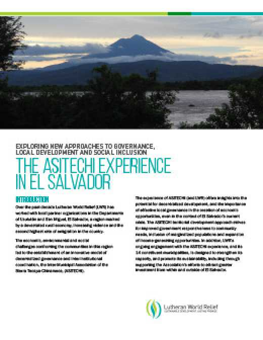 The ASITECHI Experience in El Salvador
