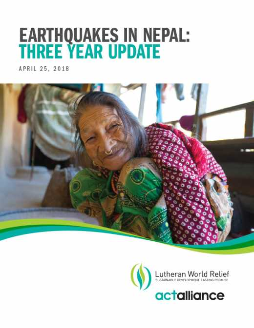 Earthquakes in Nepal: Three Year Update